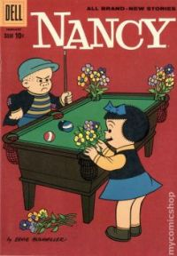 Nancy And Sluggo: Pool Table Flower Pot
