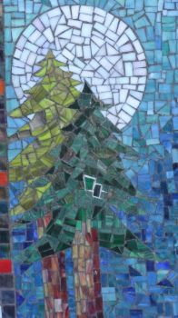 Stain Glass Trees