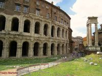 Teatro Marcello and the Temple of Apollo
