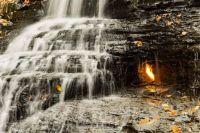 eternal-flame-falls, USA
