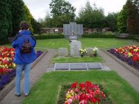 Lockerbie air disaster memorial garden.