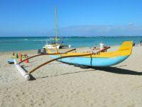 Cool canoe, Waikiki