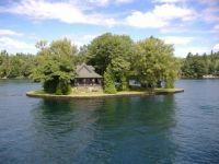 Secluded cottage, 1,000 Islands Ontario, Canada
