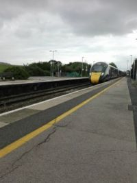 Class 802 at Castle Cary
