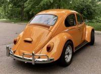 1966 VW Bug Orange rear