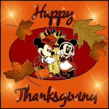Mickey Mouse Thanksgiving