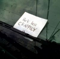 Hilarious Notes That People Shoved Into Various Windshields!