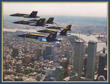 Blues WTC Fly-By