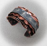 Gentle Waves Cuff Bracelet
