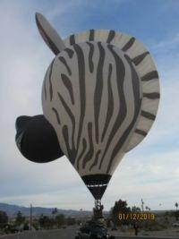 Another amazing balloon! LHC, AZ