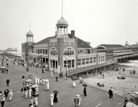 Atlantic City, Steel Pier - 1910