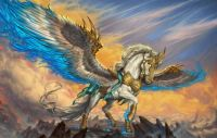 Pegasus of war