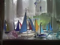 FISH AND SHIPS IN A WINDOW