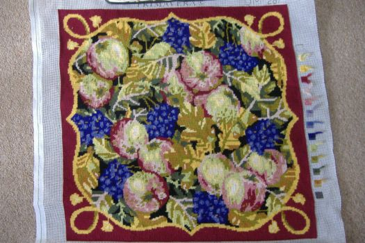 Tapestry Cushion - Fallen Fruits