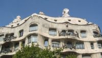 Architectural detail 3: Gaudi Apartments, Barcelona