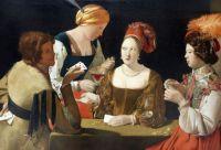 George de La Tour: El tramposo del as de diamantes, 1630