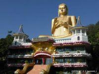 SRI LANKA – Dambulla - The Modern Golden Temple Buddha