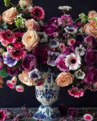 Pestré květy