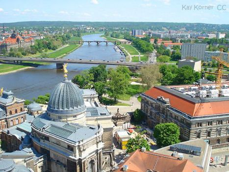overview of Dresden Germany