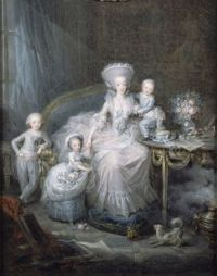 The Comtesse d'Artois and her children