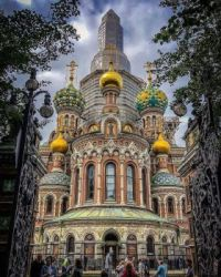 Church of the Savior on Blood - St. Petersburg, Russia.  6094