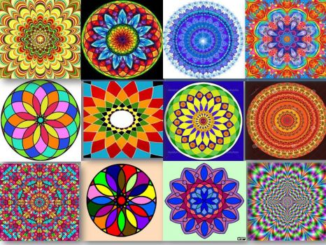 Mandala's Colors