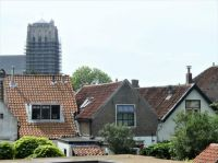 Series: walk around the old defense works (town wall) of Brielle. The St. Catharijnen church in Brielle
