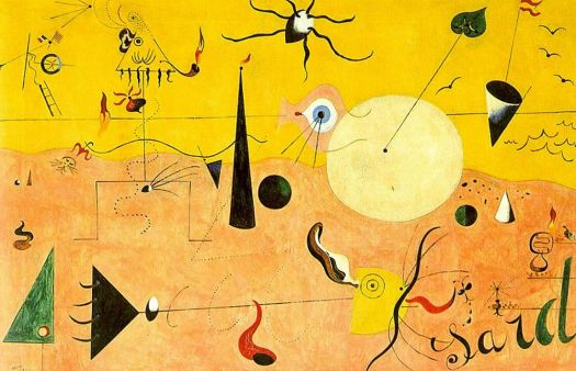 Catalan Landscape, 1924 by Joan Miró