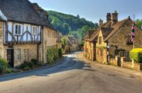 Beautiful village in the Cotswold's