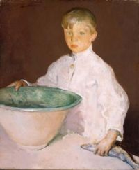 Charles Webster Hawthorne (American, 1872–1930), The Bowl (ca 1899)