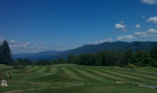 Top of the World Golf Course Lake George  NY