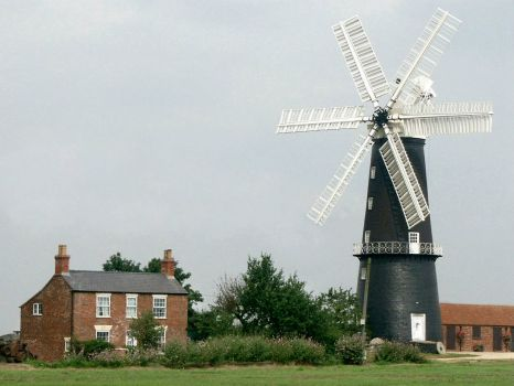 Sibsey Windmill, Lincolnshire - 18th Aug 2003