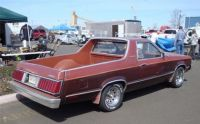 1980 Ford Durango rear