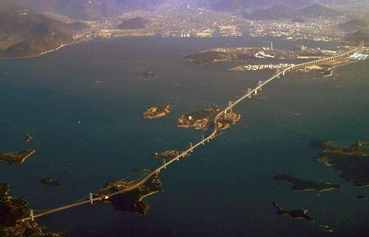 Great Seto Bridge, Japan $15.4 billion