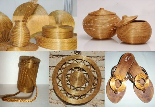 Golden Grass handwork - TO/Brazil
