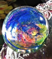 GLASS PAPERWEIGHT 4 OF 4