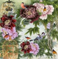 Themes Vintage illustrations/pictures  - Le Jardin de la Reine