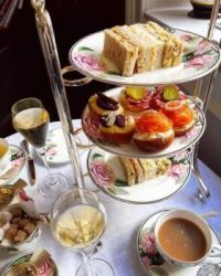 Afternoon Tea At Brown's Hotel ~~ London