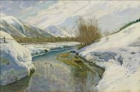 Walter Moras--Early Spring in Engadine