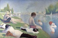 Bathers at Asnières is an 1884 painting by the French artist Georges Pierre Seurat
