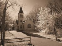 THEME: Churches (Country church in Indiana