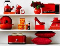 THEME ALL THINGS RED:- Mixture of Red Items