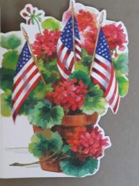 American Flags     Print by Donated by the Disabled American Veterans.
