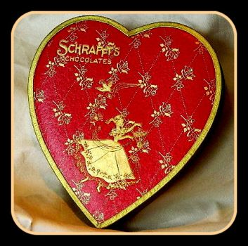 Vintage Valentine Chocolate Box
