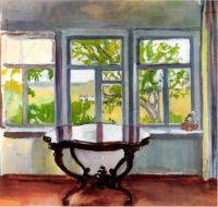 Zinaida Serebriakova (Russian, 1884–1967), The Veranda in Spring (1900)