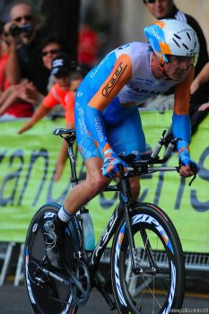 Vuelta 2009 stage-20 David Millar