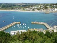 Marazion from St Michael's Mount