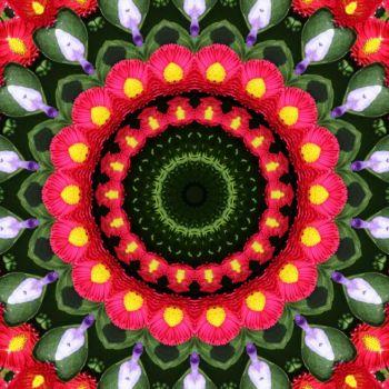 kaleidoscope 323 pink daisies large