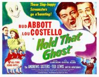 Hold That Ghost - 1941