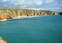 Beautiful Cornish coastline